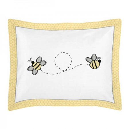 Honey Bee Pillow Sham