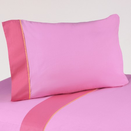 Butterfly Pink & Orange Sheet Set
