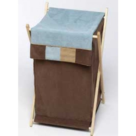 Soho Blue and Brown Hamper