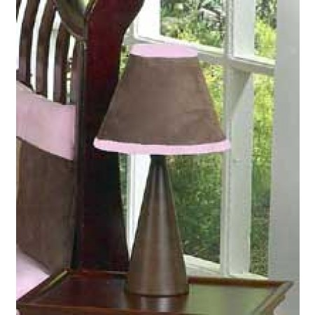 Soho Pink and Brown Lamp Shade