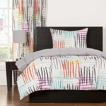 Crayola Stroke of Genius Comforter Set - Twin Size