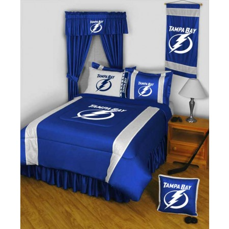 "Tampa Bay Lightning Sideline Pillow - 17"" X 17"""