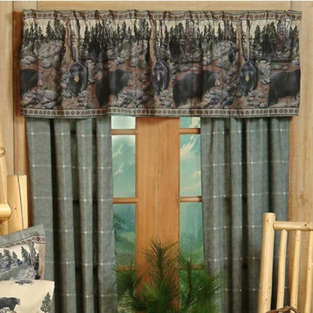 The Bears Curtain Panels*