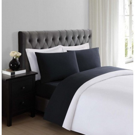 Truly Soft Everyday Sheet Set - Extra Long Twin Size - Black