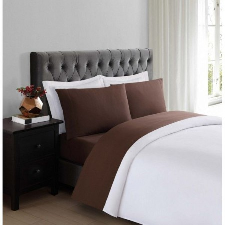 Truly Soft Everyday Sheet Set - Extra Long Twin Size - Brown