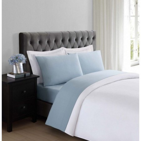 Truly Soft Everyday Sheet Set - Full Size - Light Blue