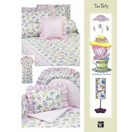 Tea Party Rod Pocket Drapes By California Kids