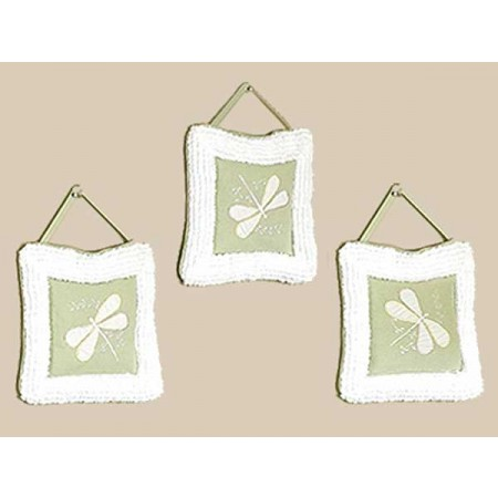 Sage Green Dragonfly Dreams Wall Hanging