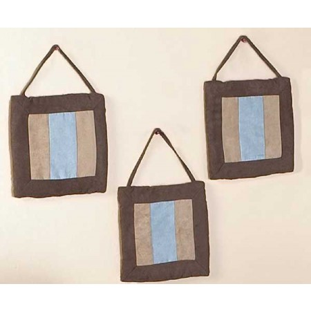 Soho Blue and Brown Wall Hanging
