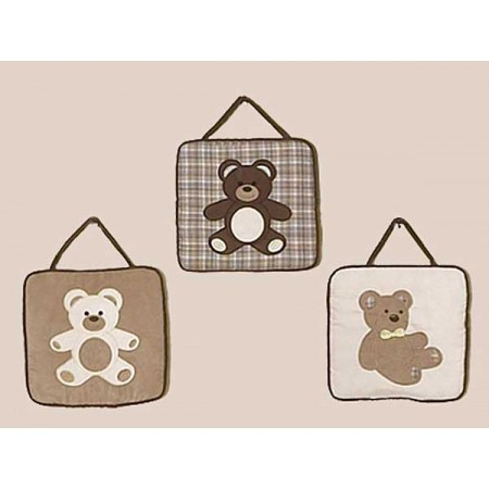 Teddy Bear Chocolate Wall Hanging
