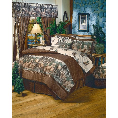 whitetail dreams sheet set cal king size - California King Bed Sheets