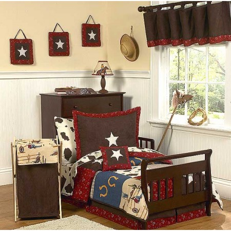 Wild West Cowboy Western Toddler Bedding Set by Sweet Jojo Designs