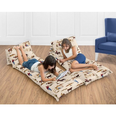 Wild West Cowboy Pillow Case Lounger