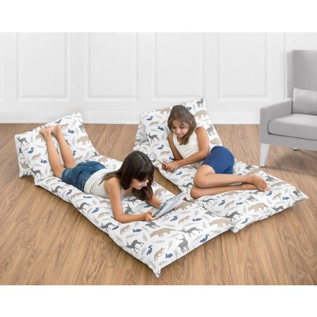 Woodland Animals Pillow Case Lounger