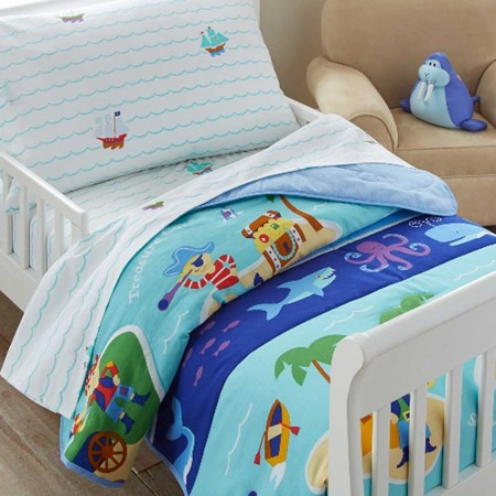 Pirates Toddler Size Comforter by Olive Kids