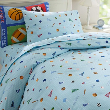 Olive Kids Game On Full Duvet Cover