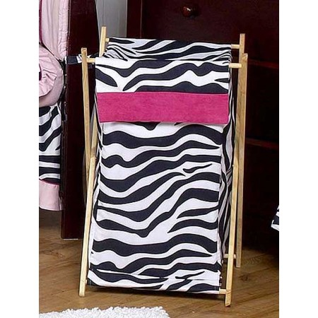 Hot Pink Zebra Hamper