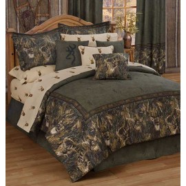 Browning Whitetails Comforter Set - California King Size