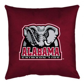 Alabama Crimson Tide Locker Room Toss Pillow - 18 X 18