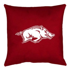 "Arkansas Razorbacks Locker Room Accent Pillow - 17"" X 17"""