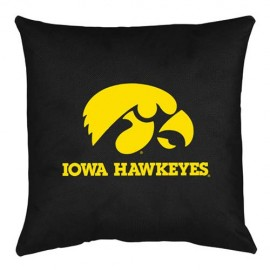 Iowa Hawkeyes Locker Room Toss Pillow - 18 X 18