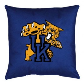 Kentucky Wildcats Locker Room Toss Pillow - 18 X 18