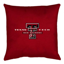 "Texas Tech Red Raiders Locker Room Pillow - 17"" X 17"""
