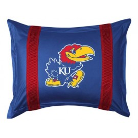 Kansas Jayhawks Locker Room Pillow Sham
