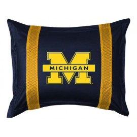 Michigan Wolverines Locker Room Pillow Sham