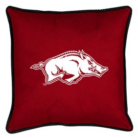 "Arkansas Razorbacks  17"" X 17"" Sideline Accent Pillow"