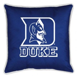 "Duke Blue Devils Toss Pillow - 18"" X 18"" Sideline Toss Pillow"