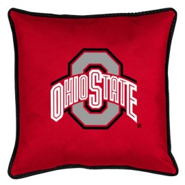 "Ohio State Buckeyes  17"" X 17"" Sideline Accent Pillow"