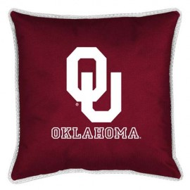 "Oklahoma Sooners Toss Pillow - 18"" X 18"" Sideline Toss Pillow"
