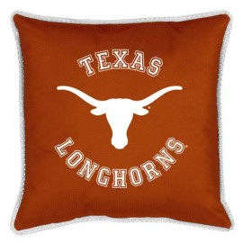 "Texas Longhorns  17"" X 17"" Sideline Accent Pillow"