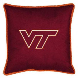 "Virginia Tech Hokies  17"" X 17"" Sideline Accent Pillow"
