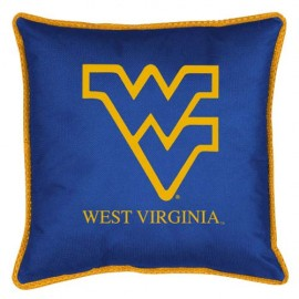 "West Virginia Mountaineers  17"" X 17"" Sideline Accent Pillow"
