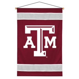 Texas A&M Aggies Sideline Wall Hanging - 28 X 45