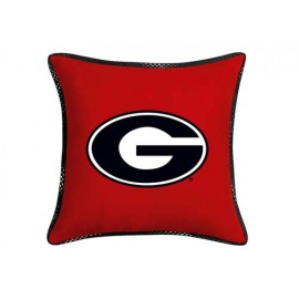 "Georgia Bulldogs MVP Pillow - 17"" X 17"""
