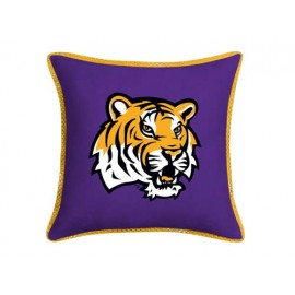 "LSU Tigers MVP Pillow - 17"" X 17"""