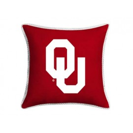 "Oklahoma Sooners MVP Pillow - 17"" X 17"""