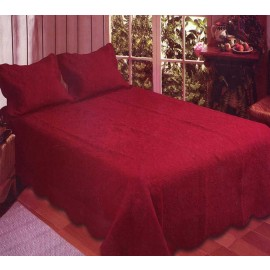Harmonious Mist Quilt - Red Brick - Full/Queen Size