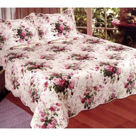 Chinese Rose Quilt - Full/Queen Size