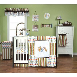 DR. SEUSS ABC - 3 PIECE CRIB BEDDING SET