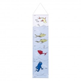 Dr. Seuss One Fish, Two Fish Canvas Growth Chart