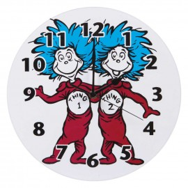 WALL CLOCK - DR. SEUSS THING 1 AND THING 2