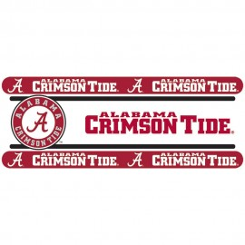 "Alabama Crimson Tide Wall Border - 5"" Tall X 15' Long"