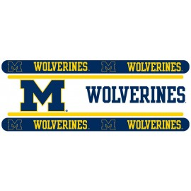 "Michigan Wolverines Wall Border - 5"" Tall X 15' Long"