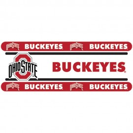 "Ohio State Buckeyes Wall Border - 5"" Tall X 15' Long"