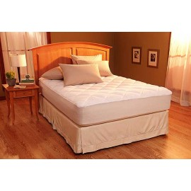 Restful Nights Egyptian Cotton Mattress Pad - Twin Size