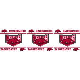 "Arkansas Razorbacks Wall Border - 5"" Tall X 15' Long"